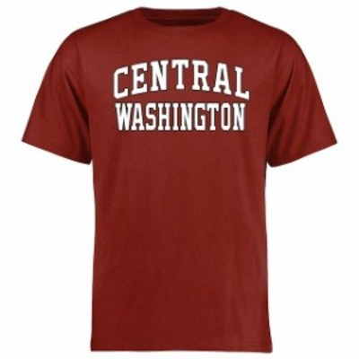 Fanatics Branded ファナティクス ブランド スポーツ用品  Central Washington Wildcats Cardinal Everyday T-Shirt