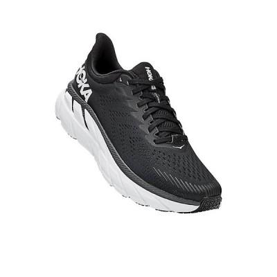 ホッカオネオネ シューズ メンズ ランニング Hoka One One Men's Clifton 7 Shoe Black / White