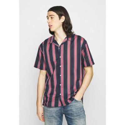 ジャック アンド ジョーンズ シャツ メンズ トップス JJGREG STRIPE SHIRT - Shirt - slate rose