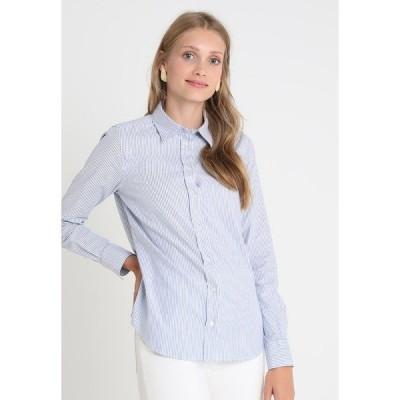 ガント シャツ レディース トップス OXFORD BANKER - Button-down blouse - nautical blue