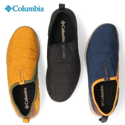 コロンビア Columbia メンズ レディース シューズ ヨンカラモック YU0362 010 464 735 保温 難燃 軽量 モック スリッポン キャンプ セール