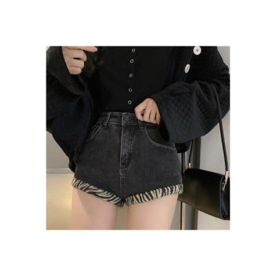 【送料無料】女性のジーンズ 秋冬 ハイウエスト 着やせ 着やせ ストレート ショート | 364331_A64362-9639343