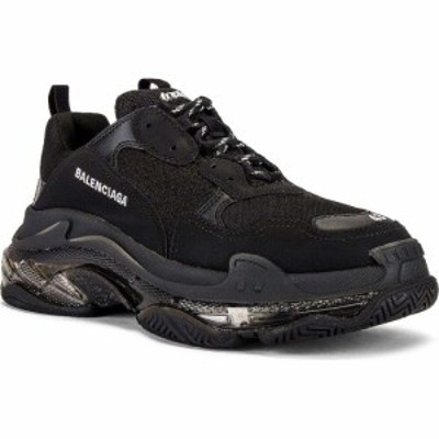 バレンシアガ Balenciaga メンズ スニーカー シューズ・靴 triple s clear sole Black