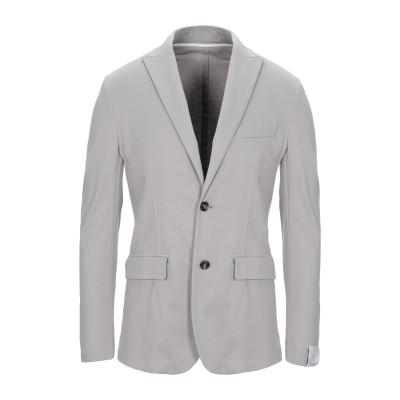 パオロ ペコラ PAOLO PECORA テーラードジャケット グレー 48 100% コットン テーラードジャケット