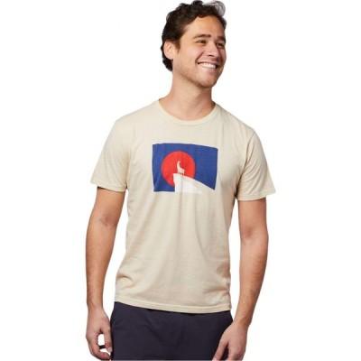 コトパクシ Cotopaxi メンズ Tシャツ トップス Llama Got Out T-Shirt Cream