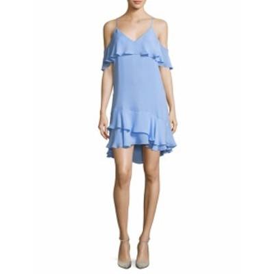 パーカー レディース ワンピース Cold Shoulder Slip Dress