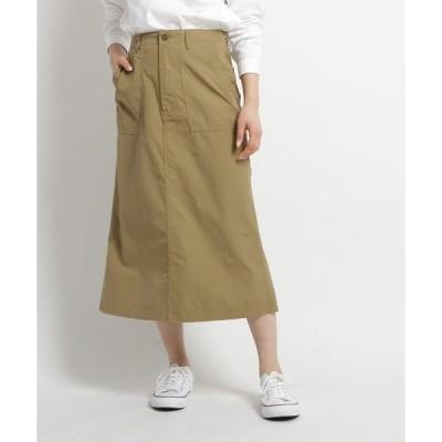 スカート 【洗える】DANTON ベイカースカート