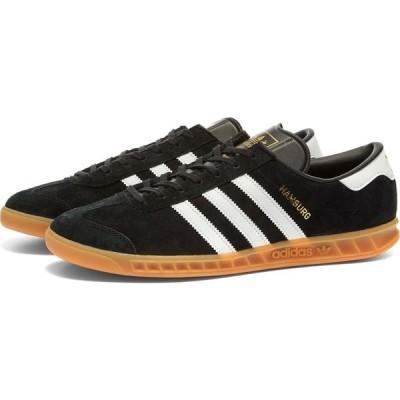 アディダス Adidas メンズ スニーカー シューズ・靴 hamburg Black/White/Gum