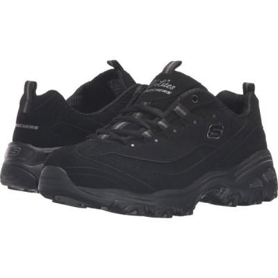 スケッチャーズ SKECHERS レディース スニーカー シューズ・靴 D'Lites - Play On Black
