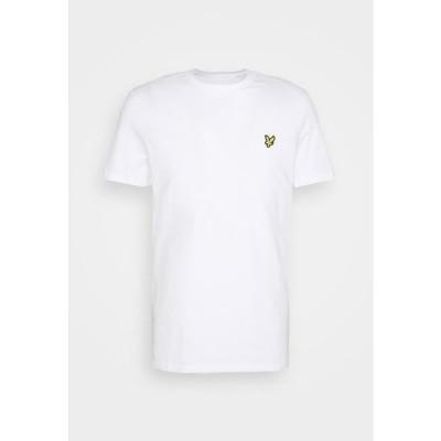ライルアンドスコット メンズ ファッション PLAIN - Basic T-shirt - white