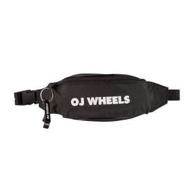 オージェー ウィールズ メンズ レディース ウェストパック ブラック ボディ バッグ OJ WHEELS WAIST PACK BLACK