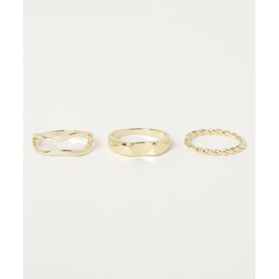指輪 Dorothy Lang(ドロシーラング)3セットリング
