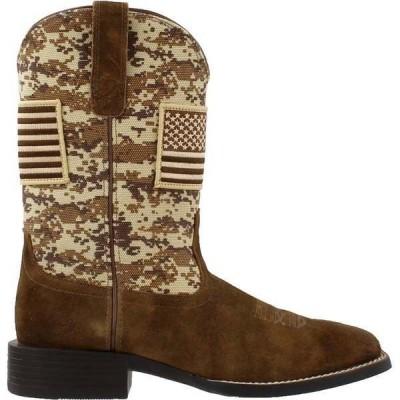 アリアト メンズ ブーツ・レインブーツ シューズ Sport Patriot Square Toe Cowboy Boots