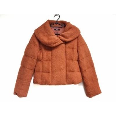 ミスJ missJ ダウンジャケット サイズ38 M レディース 美品 - ブラウン 長袖/冬【中古】20200412