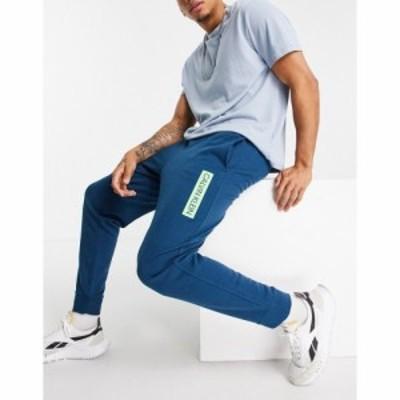 カルバンクライン Calvin Klein メンズ ジョガーパンツ ボトムス・パンツ Sport knit joggers ブルー