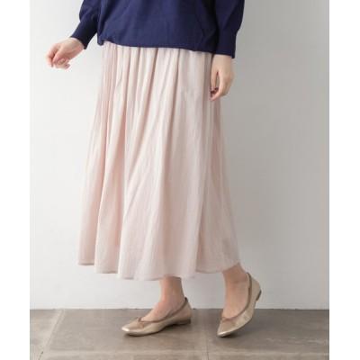 URBAN RESEARCH OUTLET / コットンボイルスカート∴ WOMEN スカート > スカート
