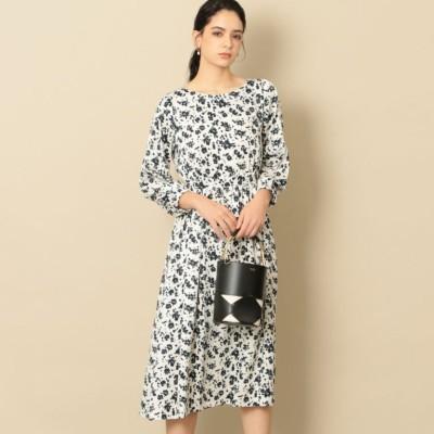 【EPOCA THE SHOP】フラワープリントドレス