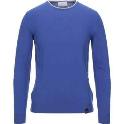 ベルナ BERNA メンズ ニット・セーター トップス Sweater Bright blue