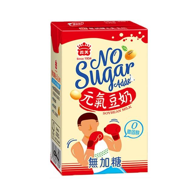 義美無加糖元氣豆奶250ml
