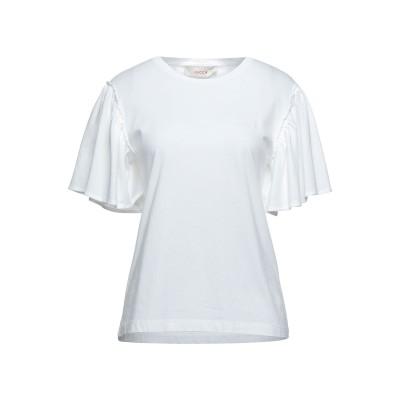 ジャッカ JUCCA T シャツ ホワイト S コットン 100% T シャツ
