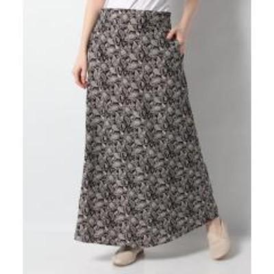 グリーンパークス・ELENCARE DUE ペイズリースカート