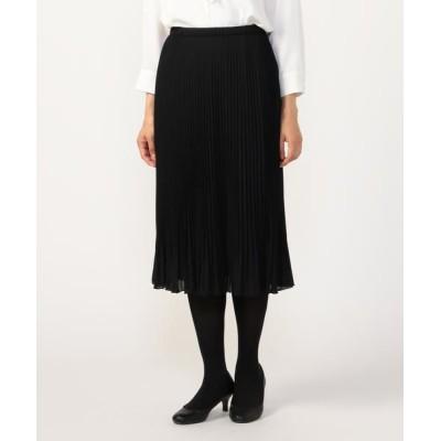 KORET/コレット ジョーゼットプリーツ スカート ブラック 11