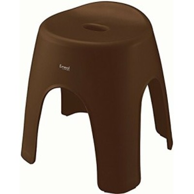 アスベル 風呂椅子 エミール 高さ35cm Ag 抗菌 ブラウン