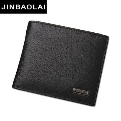 Luxury 100% Genuine Leather Wallet Fashion Short Bifold Men Wallet Casual Soild Men Wallet