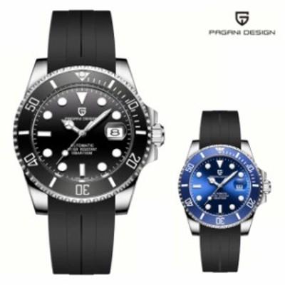シリコン 腕時計 メンズ PAGANI Design メンズ腕時計 防水 おしゃれ パガーニ 文字盤 大きい 男性