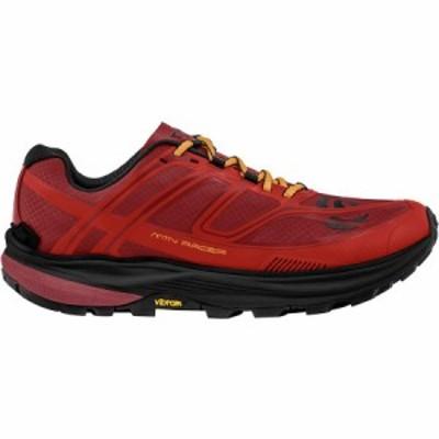 (取寄)トポアスレチック メンズ MTN レーサー トレイルランニングシューズ Topo Athletic Men's MTN Racer Trail Running Shoe Red/Orang