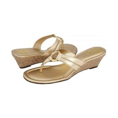 Lilly Pulitzer リリーピューリッツァー レディース 女性用 シューズ 靴 ヒール Mckim Wedge - Gold Metallic