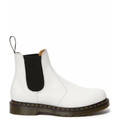ドクターマーチン レディース ブーツ・レインブーツ シューズ Women's 2976 YS Smooth Leather Chelsea Booties White