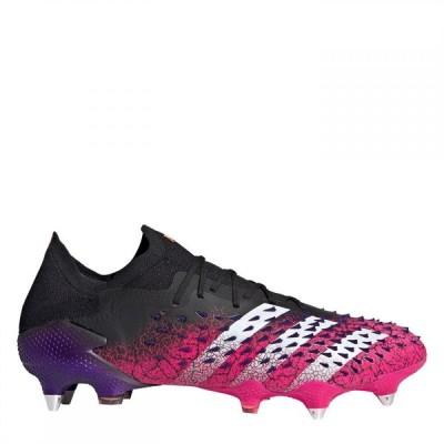 アディダス adidas メンズ サッカー ブーツ シューズ・靴 Predator Freak .1 Low Sg Football Boots Black/ShockPink