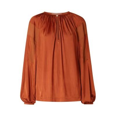 クロエ CHLOÉ T シャツ 赤茶色 34 レーヨン 100% T シャツ