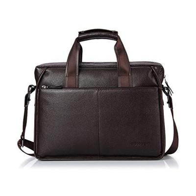 Bison Denim Leather Men's Laptop Bag Briefcase Handbag Messenger Bag Shoulder Bag 並行輸入品