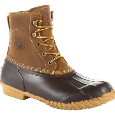 ジョージアブーツ Georgia Boot メンズ ブーツ シューズ・靴 Marshland Brown Alloy Toe Duck Boot brown