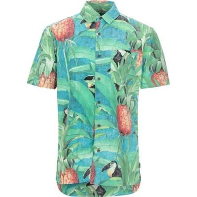 ハーレー HURLEY メンズ シャツ トップス Patterned Shirt Green