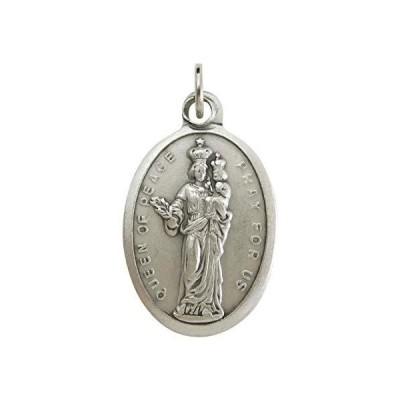 平和の女王 聖母 メダイ イタリア製