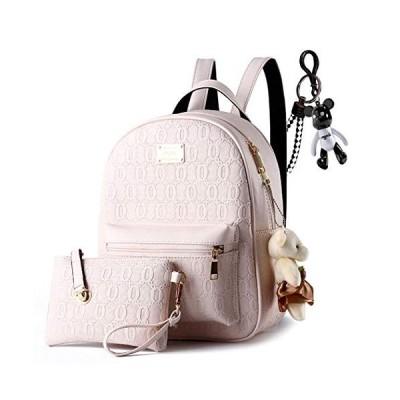 AINUOEY レディース リュック ミニ バックパック PUレザー ポシェット Mini Rucksack Pack Bag for Women