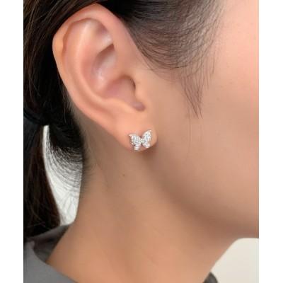 wears / バタフライビジューミニピアス WOMEN アクセサリー > ピアス(両耳用)