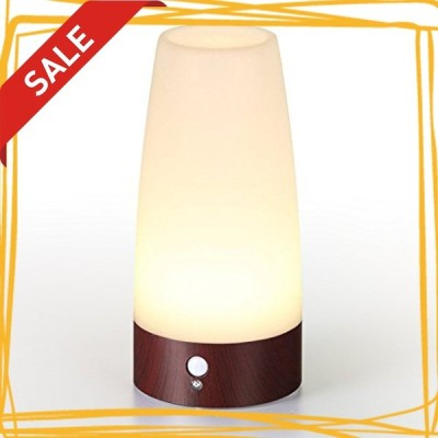 Lifeholder LEDライト 人感&明暗センサーライト ナイトライト 足元ライト 木目調 室内照明 玄関 階段