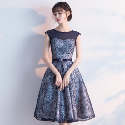 フォマールドレス Seet style フェミニン パーティドレス 成人式 発表会 宴会 超可愛い プリンセス ミニドレス 編み上げ