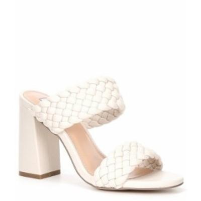 スティーブ マデン レディース サンダル シューズ Tangle Woven Dress Sandals Off White