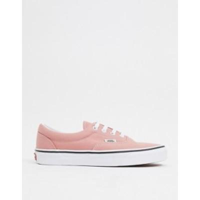 バンズ レディース スニーカー シューズ Vans Era sneakers in pink Rose dawn/true white