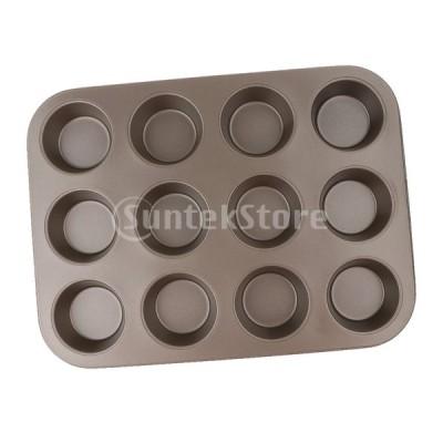 焦げ付き防止のマフィンの上鍋のカップケーキのクッキー型耐熱皿