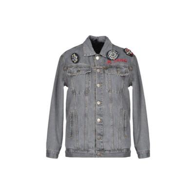 P_JEAN デニムブルゾン  レディースファッション  ジャケット  ブルゾン、ジャンバー グレー