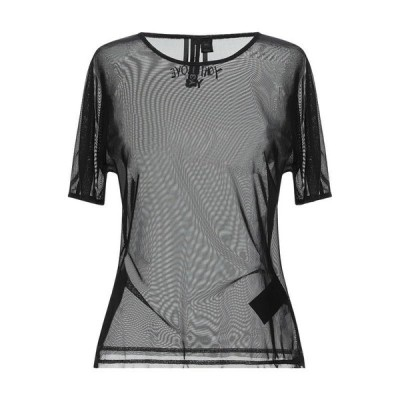 Y-3 Tシャツ ファッション  レディースファッション  トップス  Tシャツ、カットソー  半袖 ブラック