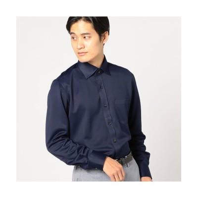 【メンズビギ】 サラマックスシャツ メンズ ネイビー LL Men's Bigi