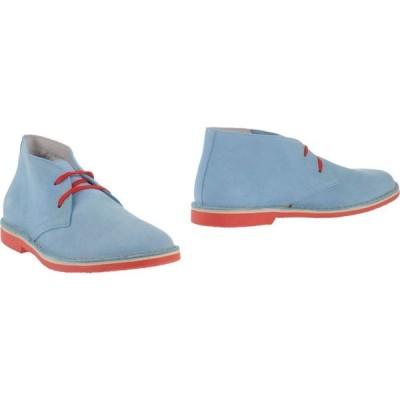 ウォーリー ウォーカー WALLY WALKER メンズ ブーツ シューズ・靴 boots Sky blue