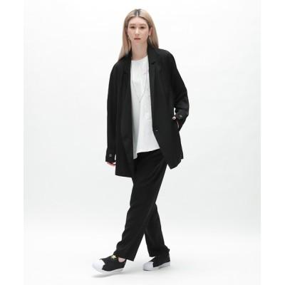 "PR01. / DIET BUTCHER ""SAKURA"" printed double breasted jacket MEN ジャケット/アウター > テーラードジャケット"